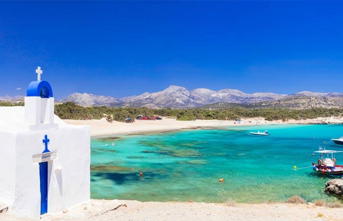 Combinate isole Cicladi Santorini Naxos Santorini