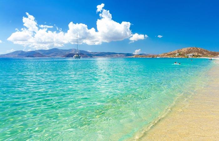 Combinate isole Cicladi Santorini Naxos